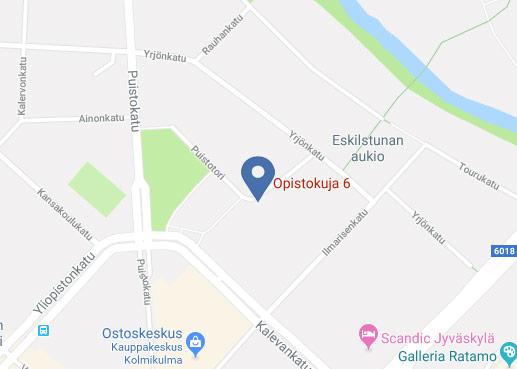 Fin/Adminin toimisto - Katso karttaa!